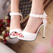 White_sandals